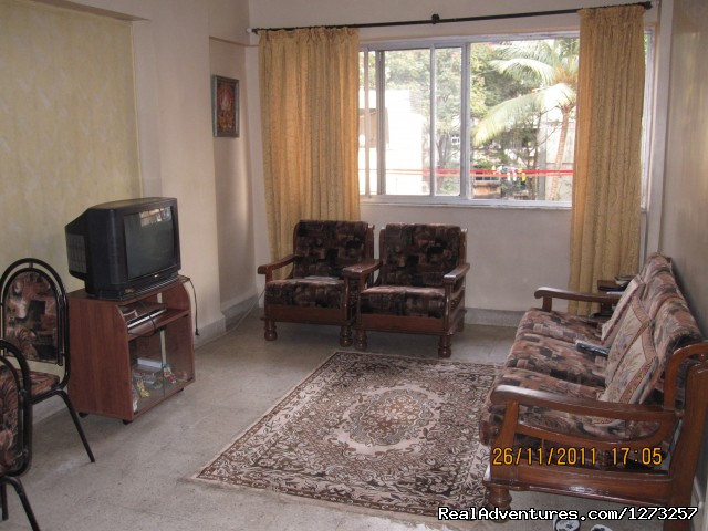 Living Room - Sitting area - Decent & Safe PG / Homestay Facility