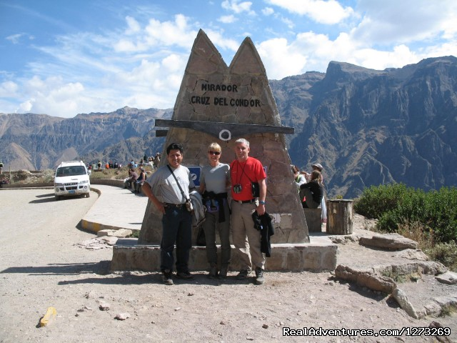 Colca Canyon - Cruz del Condor - Peru Vacation Travel