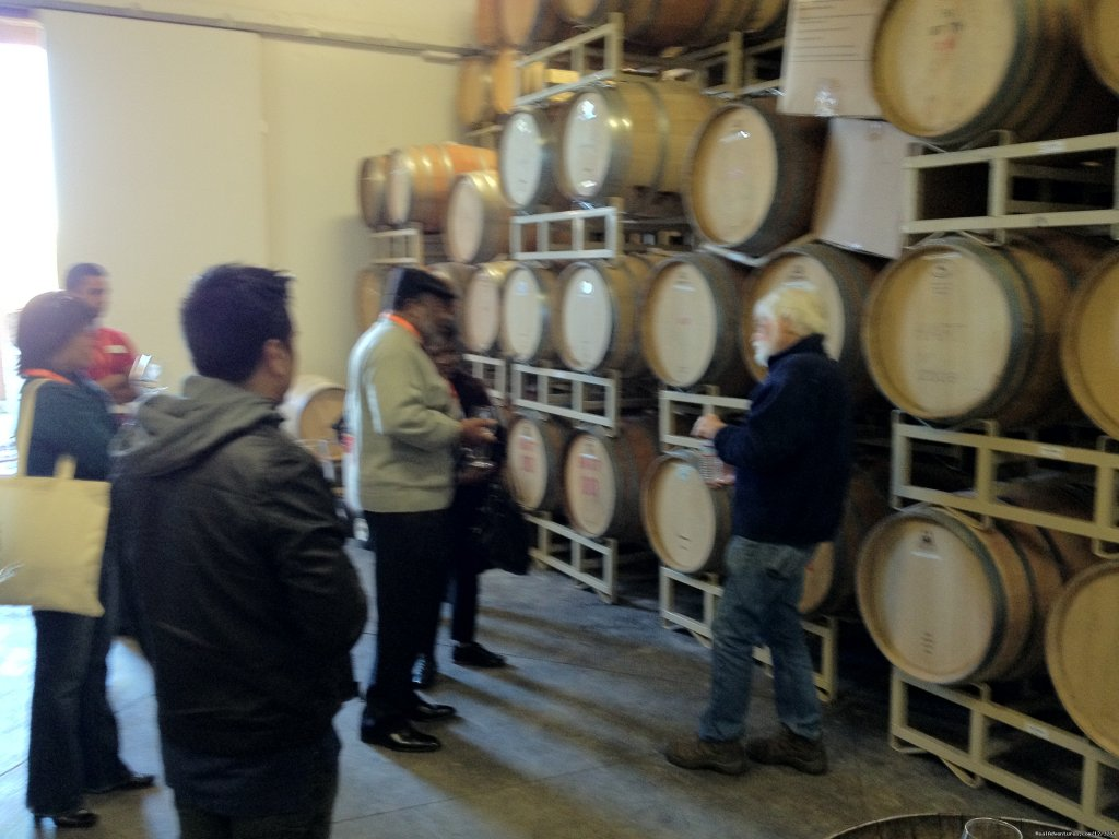 Barrel room access | Image #3/11 | Temecula's Ultimate Wine Tasting Tours