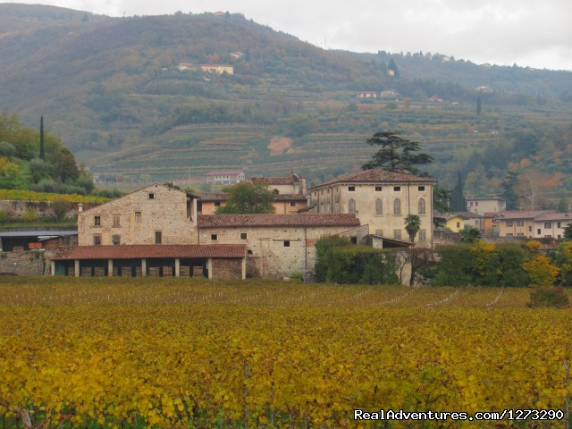 Negrar old building - Mario Apartment -Valpolicella wine region