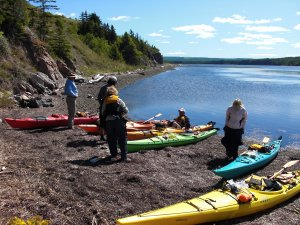 Nova Scotia Outer Islands Seakayak - Freewheeling Kayaking & Canoeing South Shore, Nova Scotia