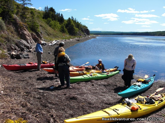 Nova Scotia Outer Islands Seakayak - Freewheeling