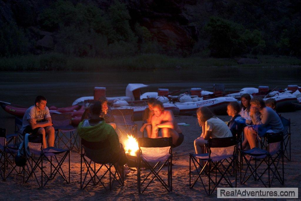 Campfire | Image #5/10 | Cataract Canyon Whitewater Rafting