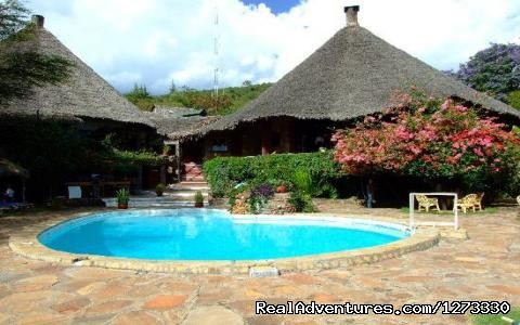 Masai Mara Sopa Lodge Swimming Pool - 3 Days   Tsavo   West/mombasa    With  A Pop Up Ro