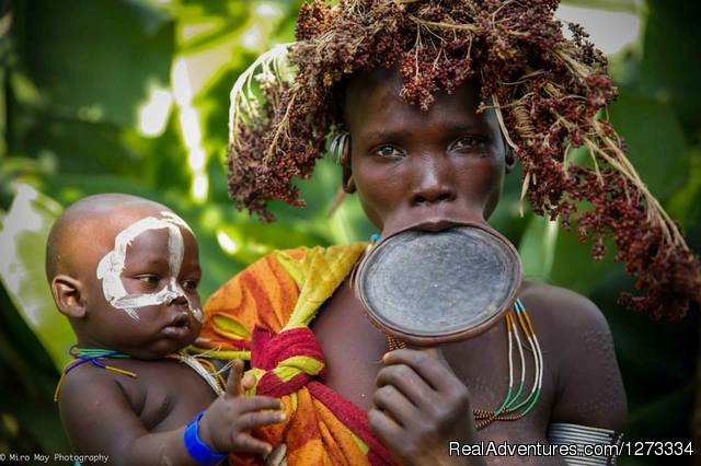Surma, Suri Tribes the untouched culture @ Kibish Vilage - Royal Ethiopia Tours
