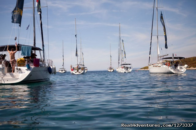 Calm Croatia Sea With MedSailors Yachts - Sailing Croatia with MedSailors