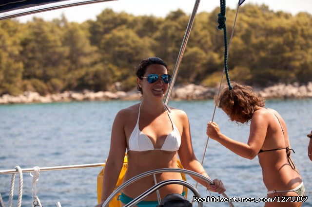 Guests Learn To Sail On MedSailors Holiday (#6 of 11) - Sailing Croatia with MedSailors