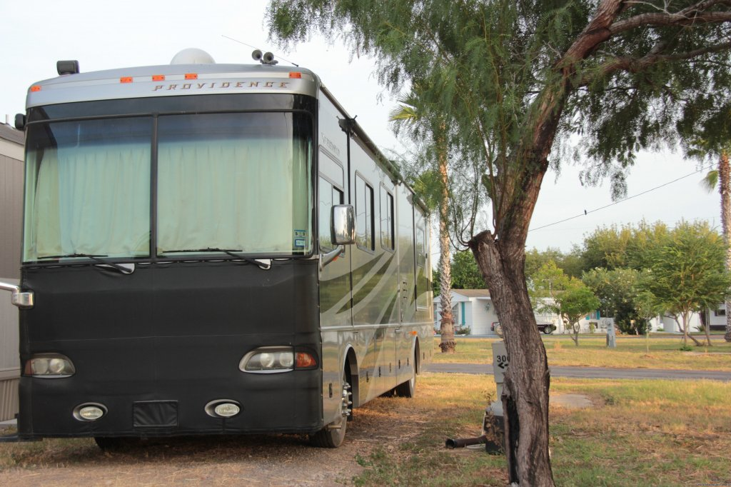 Peaceful Country Setting, Down-To-Earth Folks, Pet-Friendly, Quiet,  Oleander Acres RV Park, Mission Texas, is in the Rio Grande Valley, which has more tropical vegetation, is more relaxed, less humid than Florida, has milder weather than Arizona and