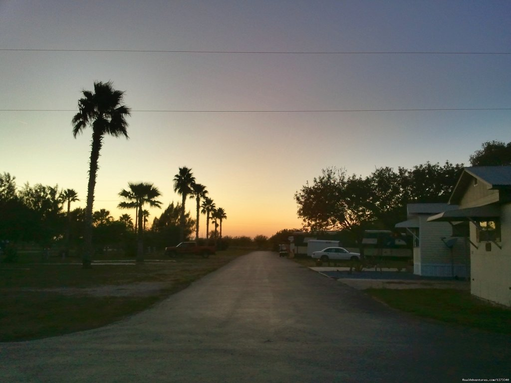 Sunset from Dacia street at Oleander Acres Resort | Image #6/7 | Spend Winter In The Sun At Oleander Acres Resort
