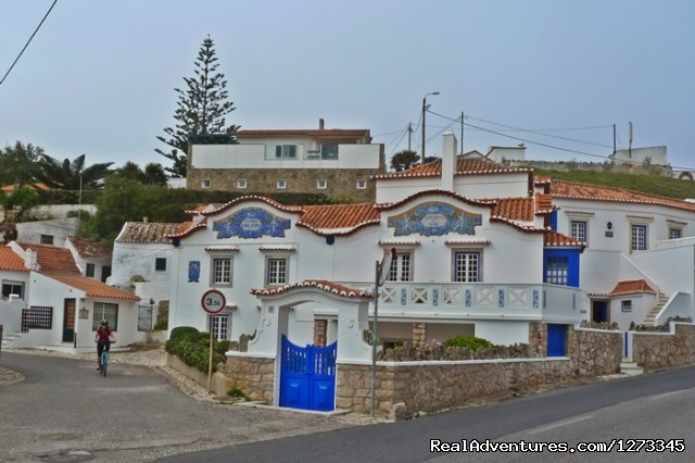 Azenhas Mar village (#4 of 5) - Sintra Cycling - Day Tour