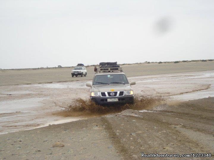 A car at Afar Crossing the river | Image #16/21 | Ethiopia Tour and Travel Agent