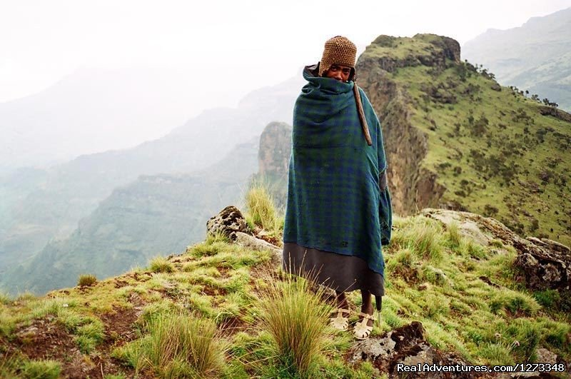 A Man In Semien Mountain | Image #20/21 | Ethiopia Tour and Travel Agent