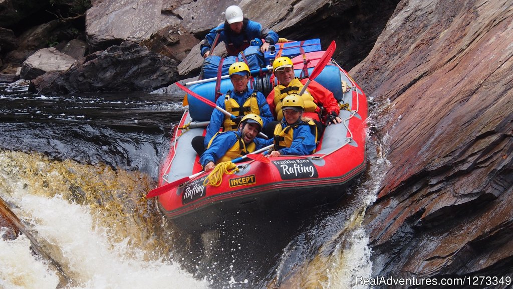 Tasmania's Franklin River provides one of the best expedition rafting tours on the planet.