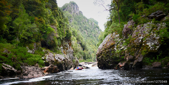The great Ravine,  on the Franklin River - Franklin River Rafting, Tasmania