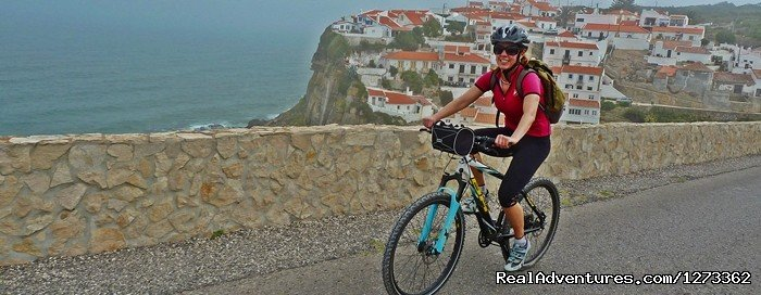 A 7 day road bike tour of the coast of Portugal in the region of Lisbon, visiting the medieval village of �