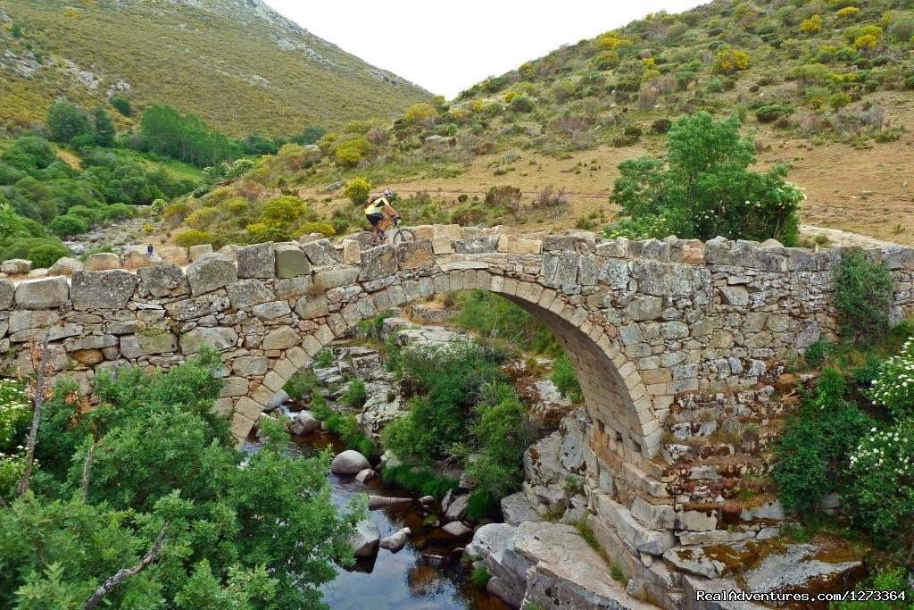 Roman bridge | Image #9/17 | Madrid-Lisbon MTBike