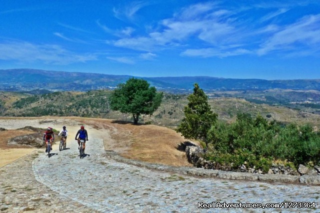 Estrela Mountain, the top of Portugal (#5 of 19) - Madrid-Lisbon MTBike