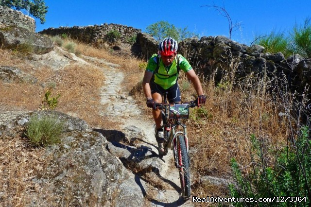 Single track in Gata Mountain, Spain - Madrid-Lisbon MTBike