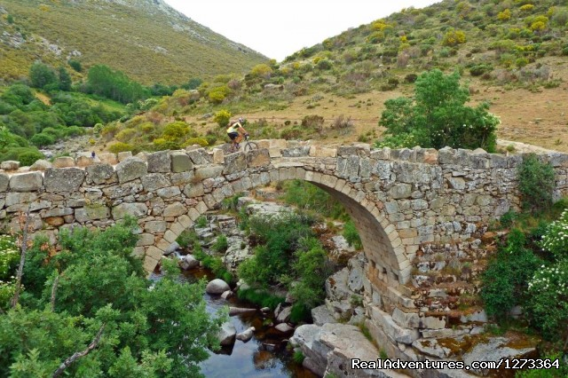 Roman bridge - Madrid-Lisbon MTBike