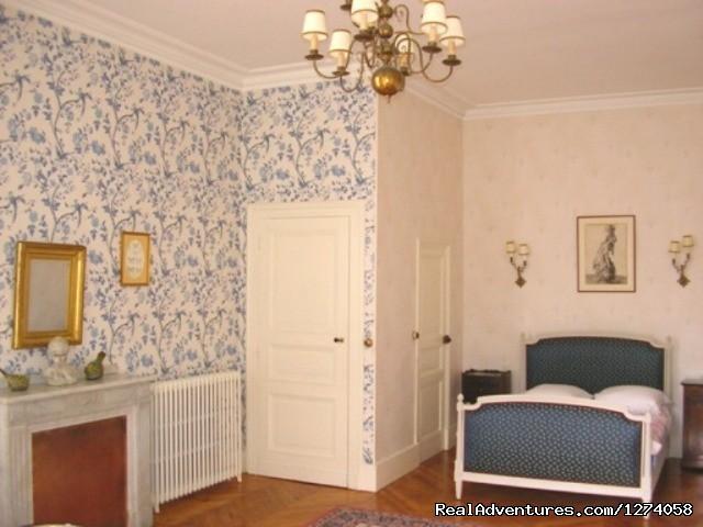 Baronne Aiceline bedroom - Chateau de Saint Michel de Lanes