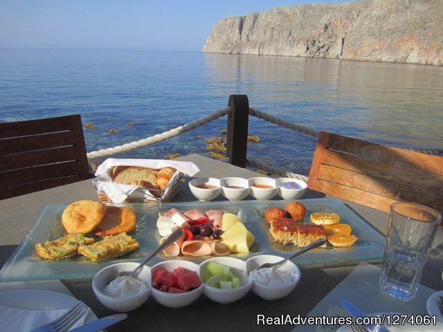 Your breakfast please (#8 of 26) - Grazytravel: Tour mount Taygetos  by Bicycle (7 d)