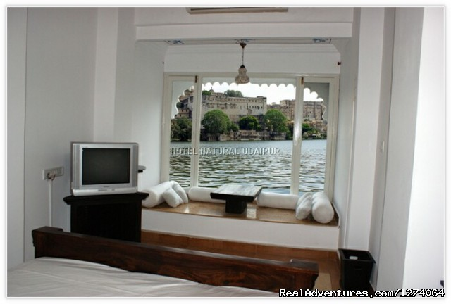 View From Lake Facing Window (#6 of 11) - Lake View Hotels In Udaipur,Budget hotels Udaipur