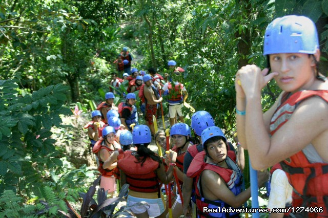 White Water Rafting in La Ceiba - Spanish Language School and Volunteer in Honduras