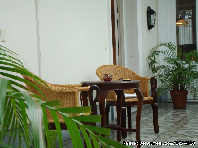 The first patio with palm trees (#5 of 26) - Charming Home Buenos Aires