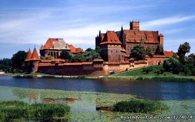 Polish Medieval Castle - Central Europe  Motorcycle  Golden Tour