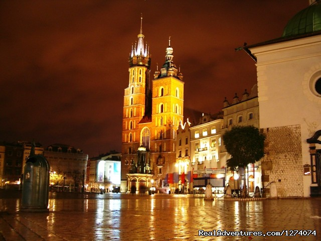 Cracow - Central Europe  Motorcycle  Golden Tour