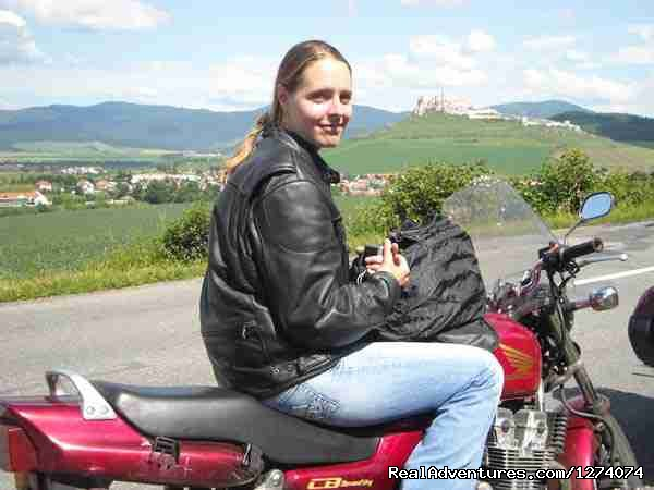 Chrisine , Mn - Central Europe  Motorcycle  Golden Tour
