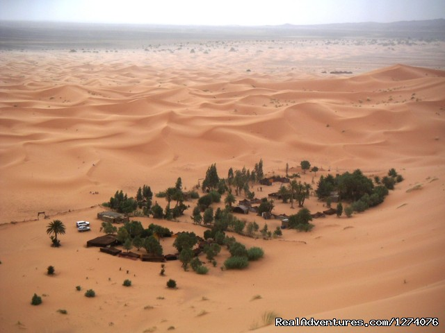 Oasis camp - Erg Chebbi Adventures