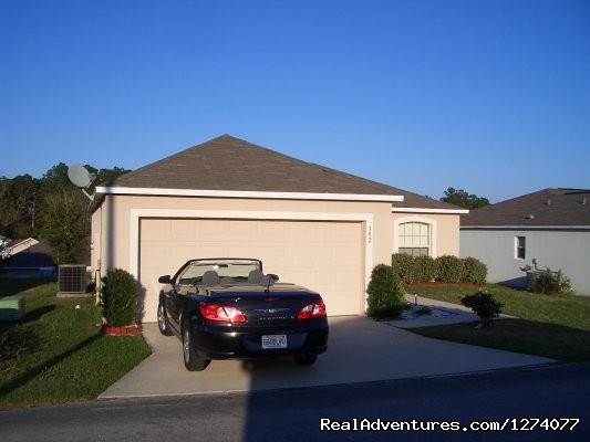Front view - Villa close to Disney