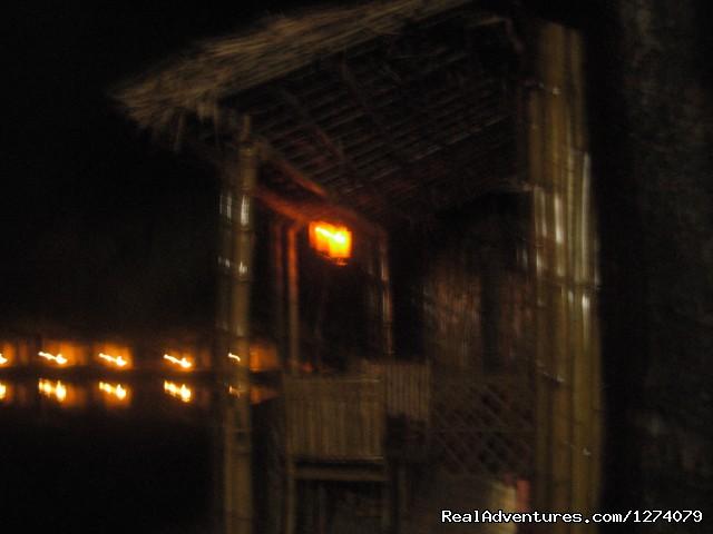 Gallery View in the night - Om lake resort