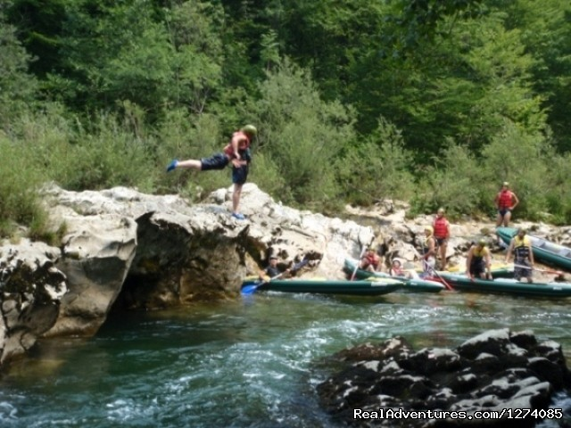 Image #3 of 8 - Multi active holiday in Green heart of Croatia
