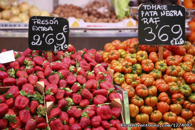 Visit to the local market for fresh food shopping - Culinary & Wine Tour Andalucia, Costa del Sol