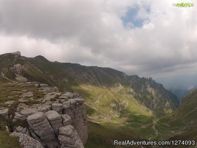 Up in the sky - Moutain Bike Trips in Romania