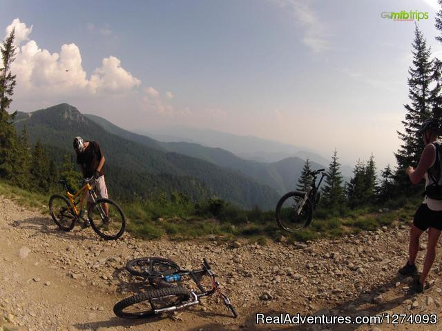Moutain Bike Trips in Romania