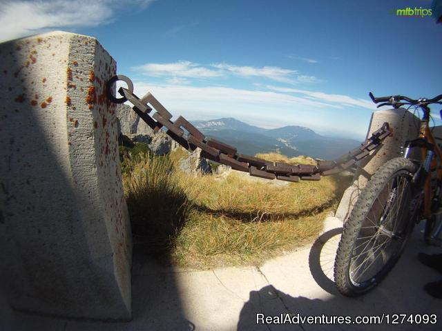 Bikes on Omu peak - Moutain Bike Trips in Romania