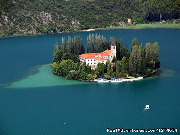 - Through  6 National parks Croatia & Bosnia