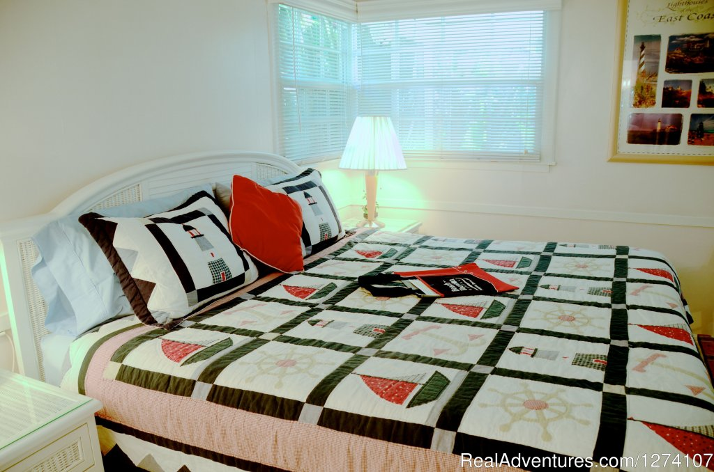 King studios have king beds plus small sleeper sofa | Image #5/26 | Cottages by the Ocean - Studios and 1/1