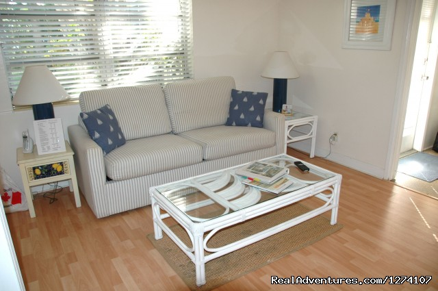 1 Bedroom living room - Cottages by the Ocean - South Florida getaway