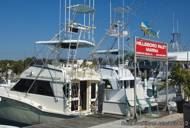 Nearby charter fishing fleet - Yacht and Beach Club - Waterfront Condo