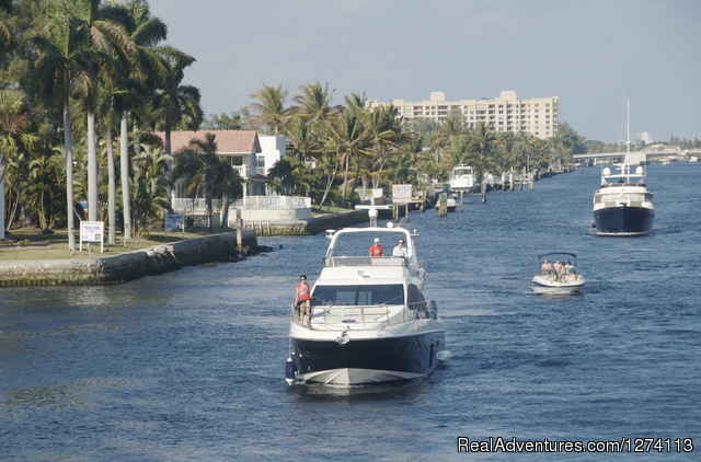 Intracoastal Waterway runs along property line