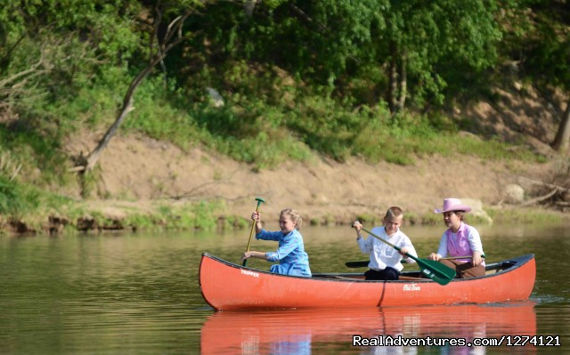 Canoeing on Brazos River - Ride & Stay at Brazos Bluffs Ranch & Stables