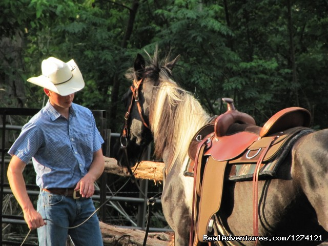 Saddling up (#7 of 9) - Ride & Stay at Brazos Bluffs Ranch & Stables