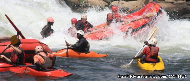 Water rafting on the Nile - Pearl of Africa Tours and Travel