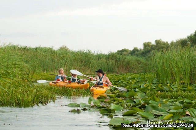 - 4 day Kayaking in Danube Delta Confort 2013