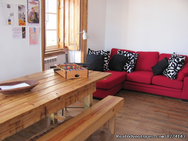 Living Room - This Is Lisbon Hostel