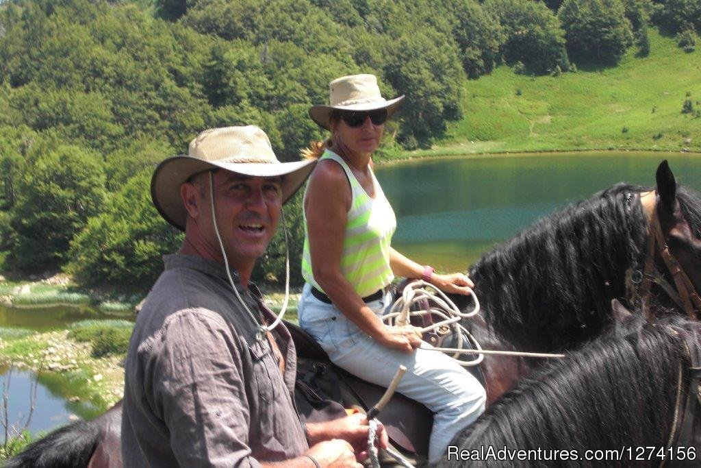 Image #2/14 | Horse riding at only ecological country,Montenegro